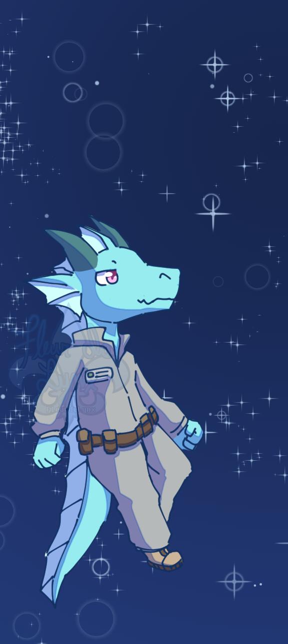SS13 Lizard Chibi
