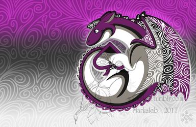 Chibi Ace Pride Dragon