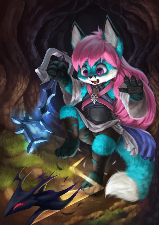 Why you little perv I swear I'm gonna kill you! (by Silverfox)