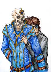 Commission--Skele-snugs!