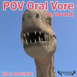 I-Rex Eats You (POV Vore)