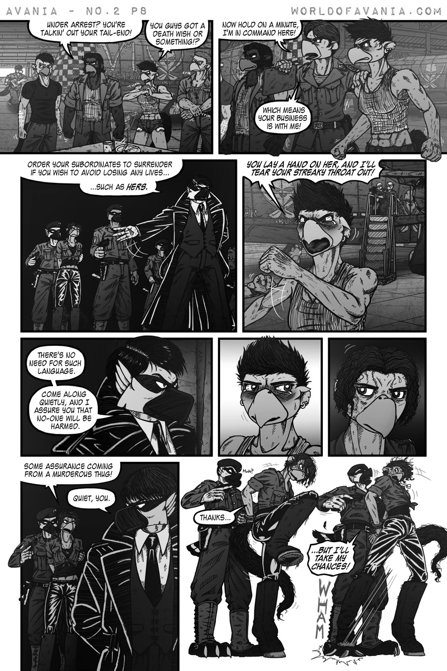 Avania Comic - Issue No.2, Page 8