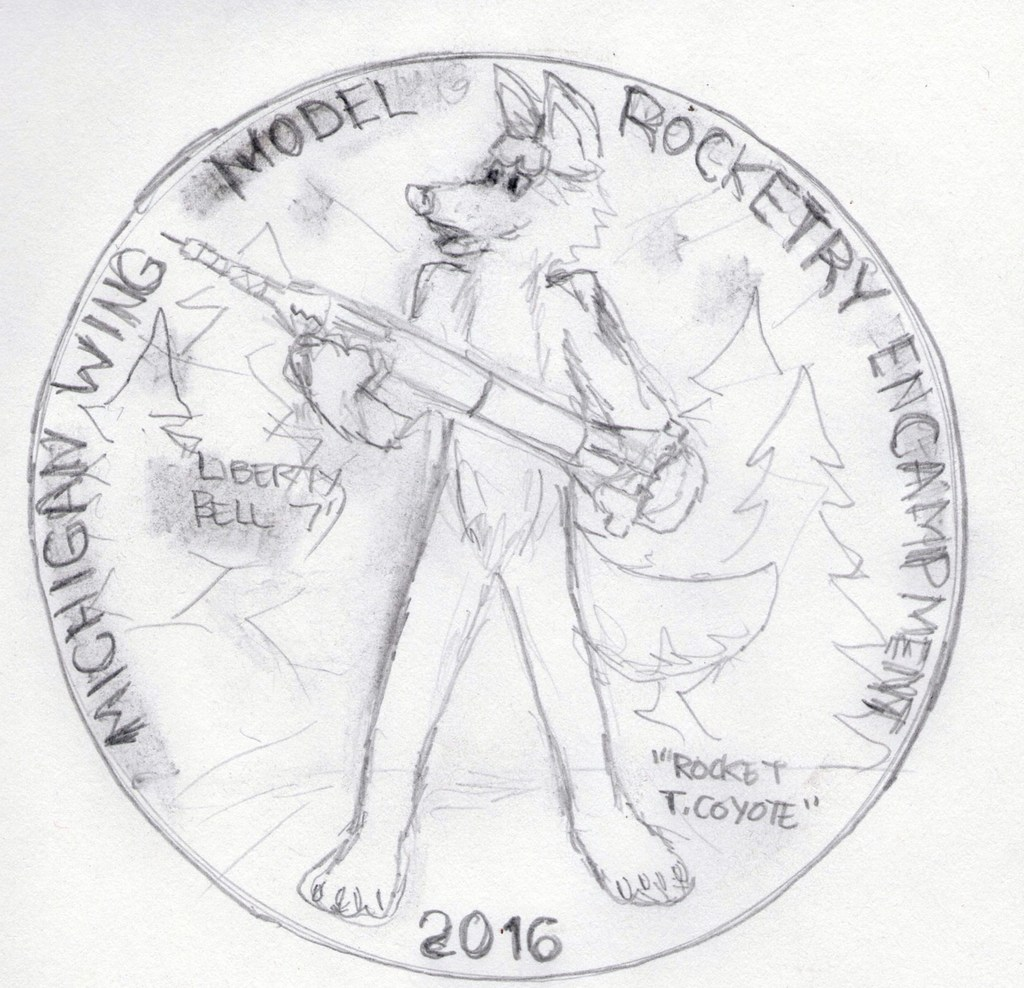 Model Rocketry Course Patch Design Rough