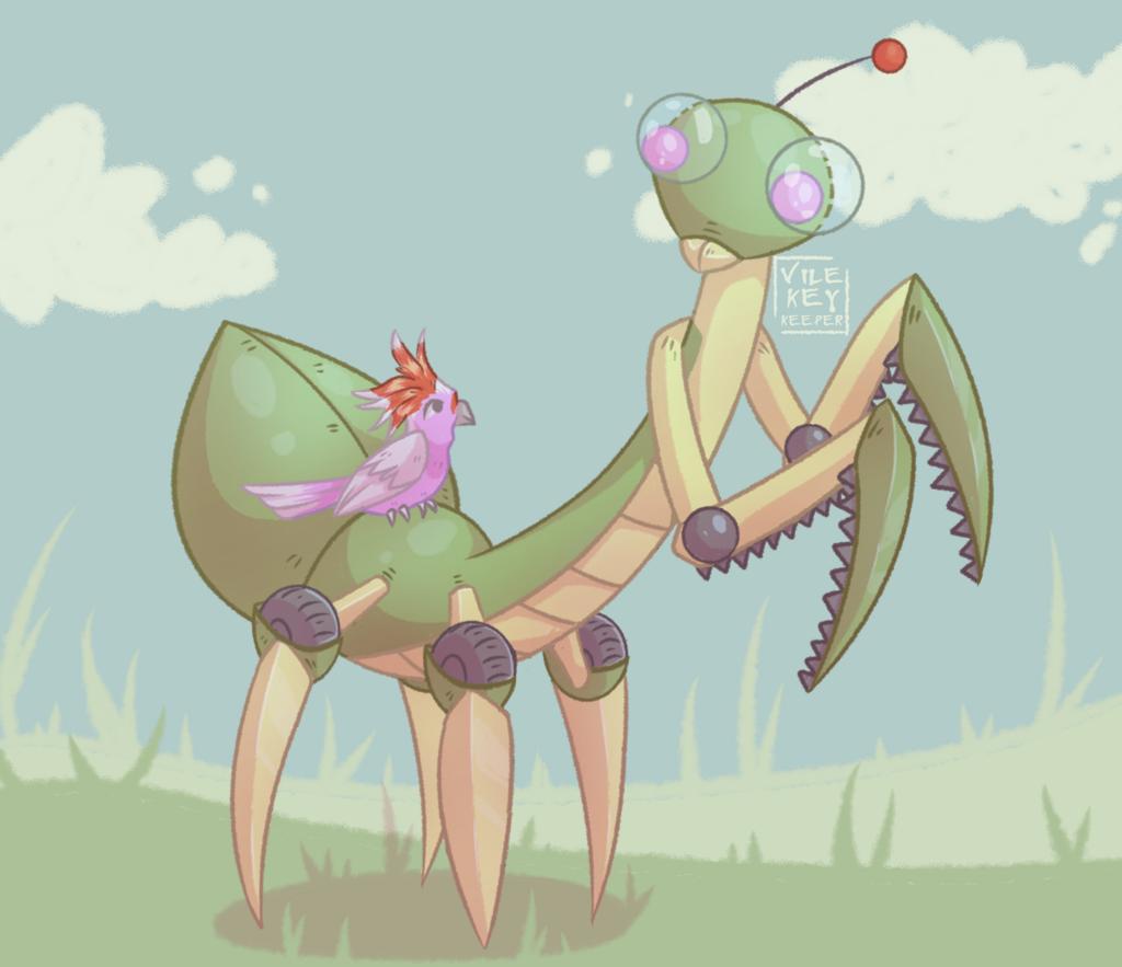 WtV: Fink, the Mantis