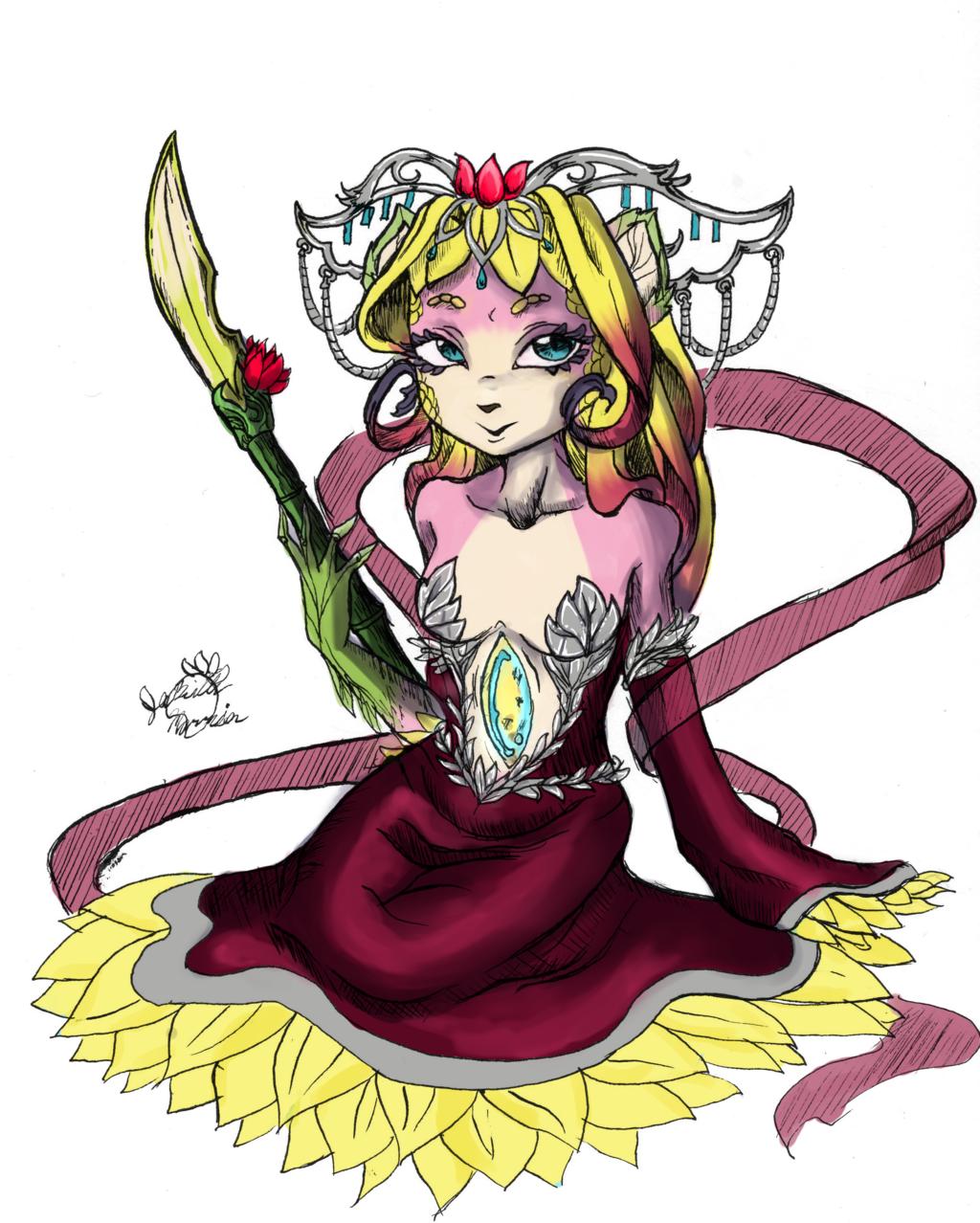 regal flower royal tear (Speeedpaint video)