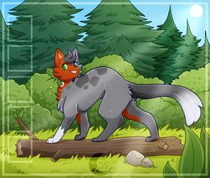 [AF] Just a Cat on a Log