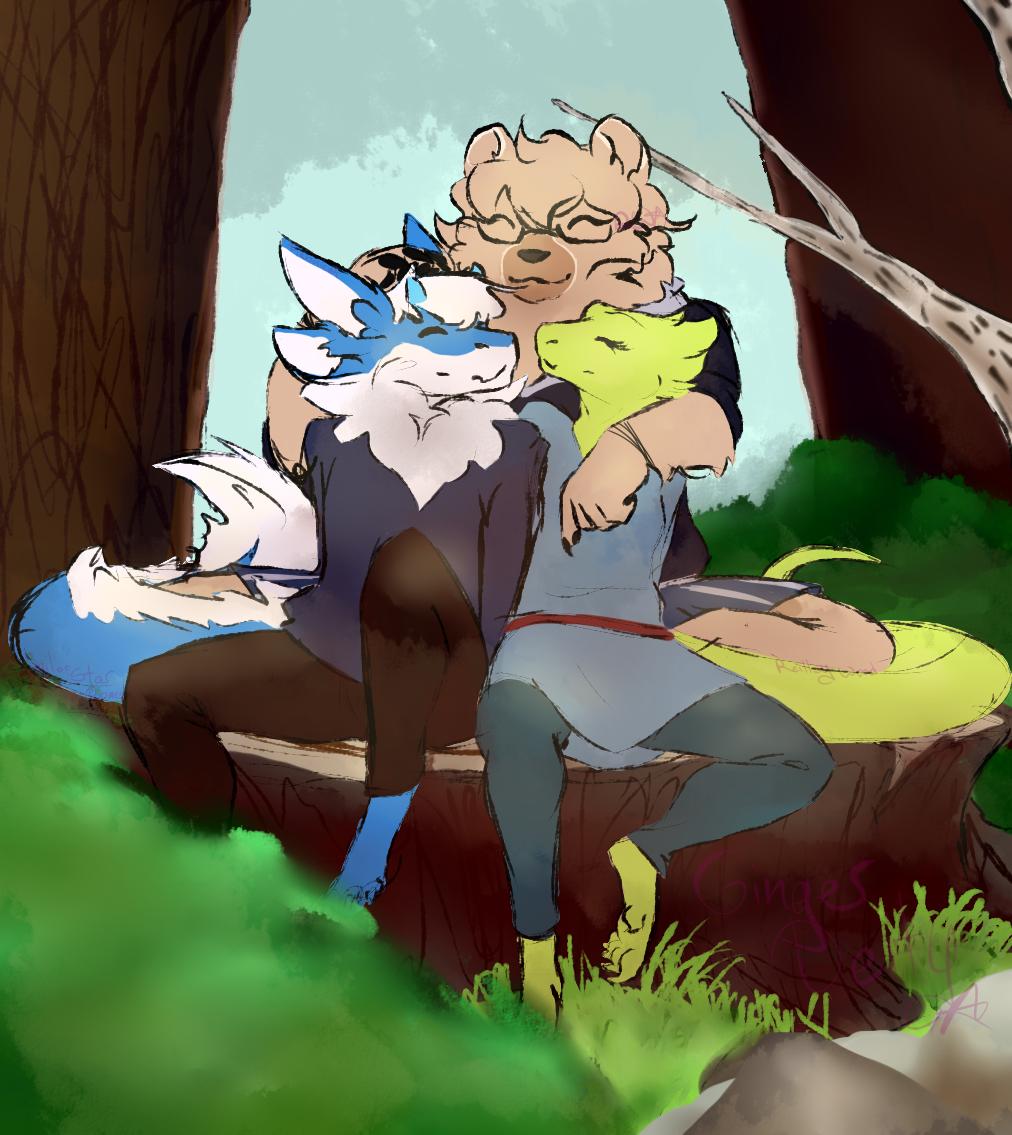 Discord Raffle: Sweet Cuddle