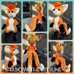 Shadow the Kitsune Plushie