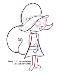 Study: Penny, 2012.06.02 (roughs)