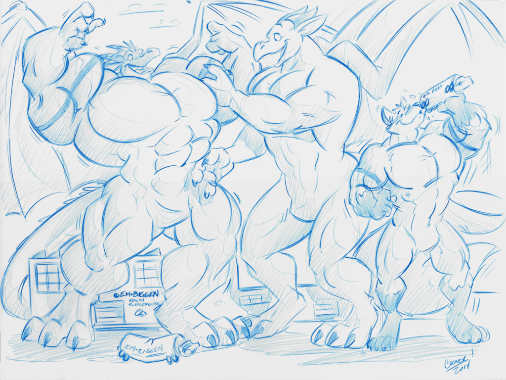 Bigness Competition Round Two: Buff-Off! - by Cooner