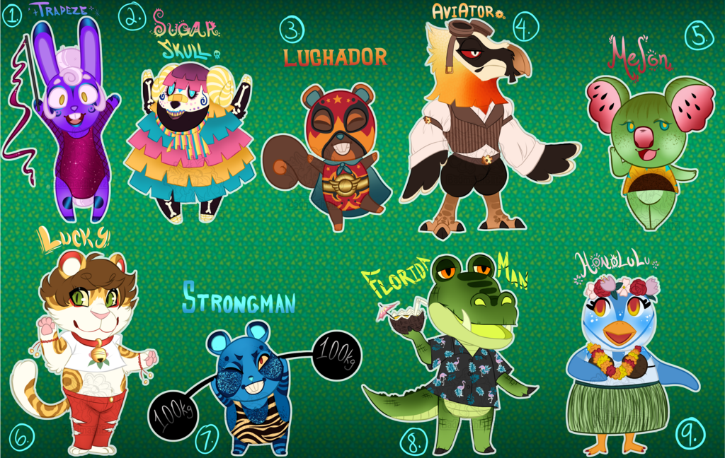 Most recent image: Animal Crossing Adopts 2 (OPEN) 5/9