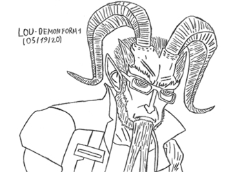 Lou - Demon Form 1