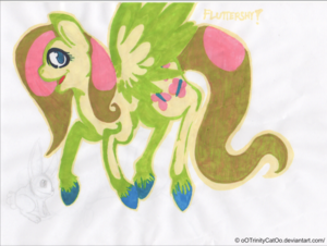 Most recent image: Fluttershy :AT: