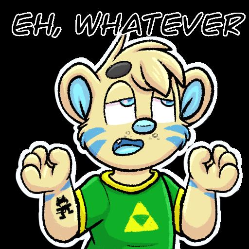 Whatever Telegram Sticker