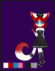 chibi critter 1- little witchling