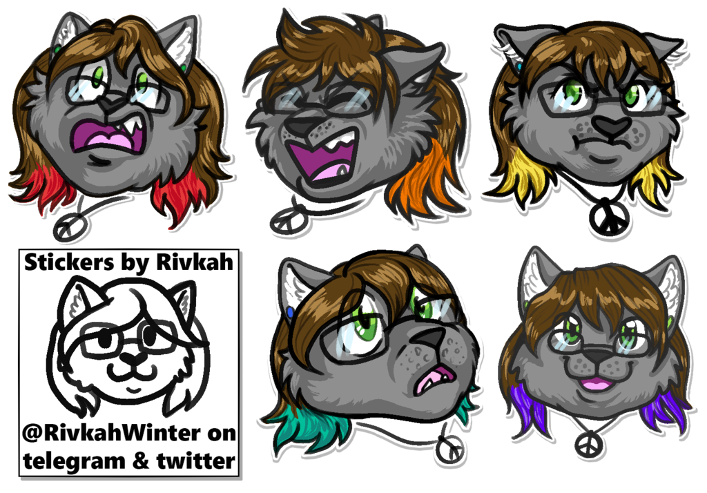 Rivkah Expression Stickers