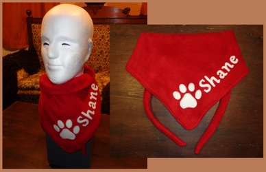 3th Fursuiter scarf for Shane