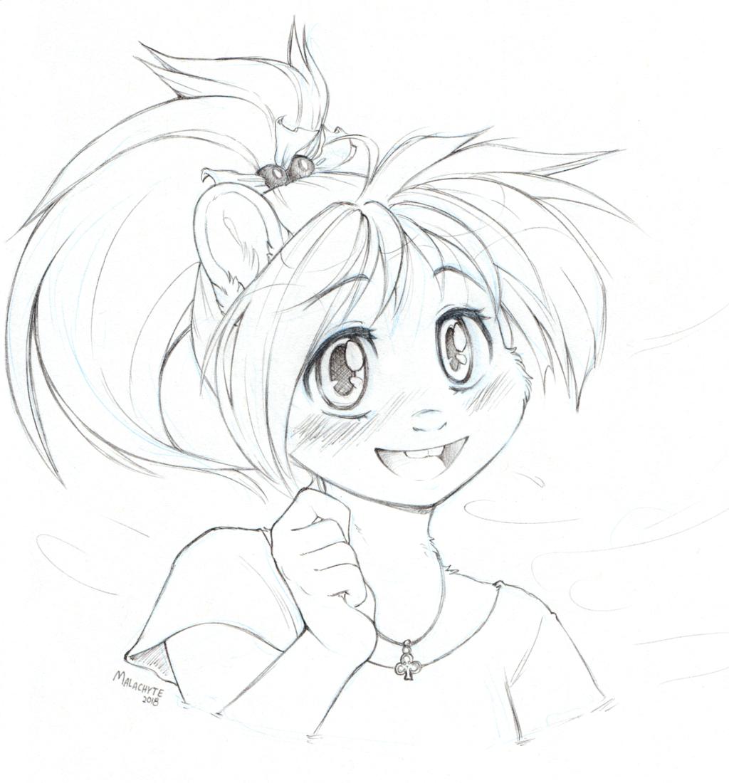 [CM] Tammy Bust Sketch
