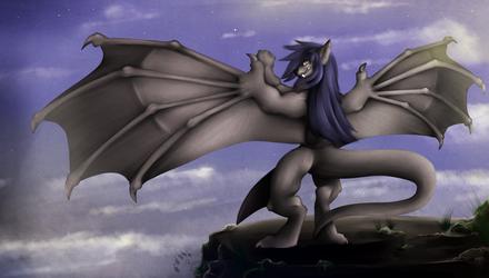 [::stream commission::] 3ddotnikkiwolf