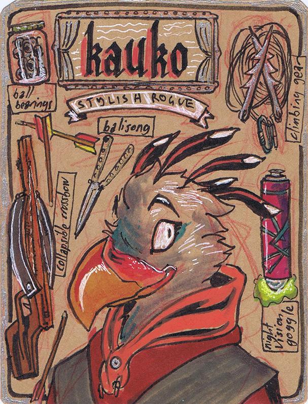 Rogue Kauko by Ian-Jay