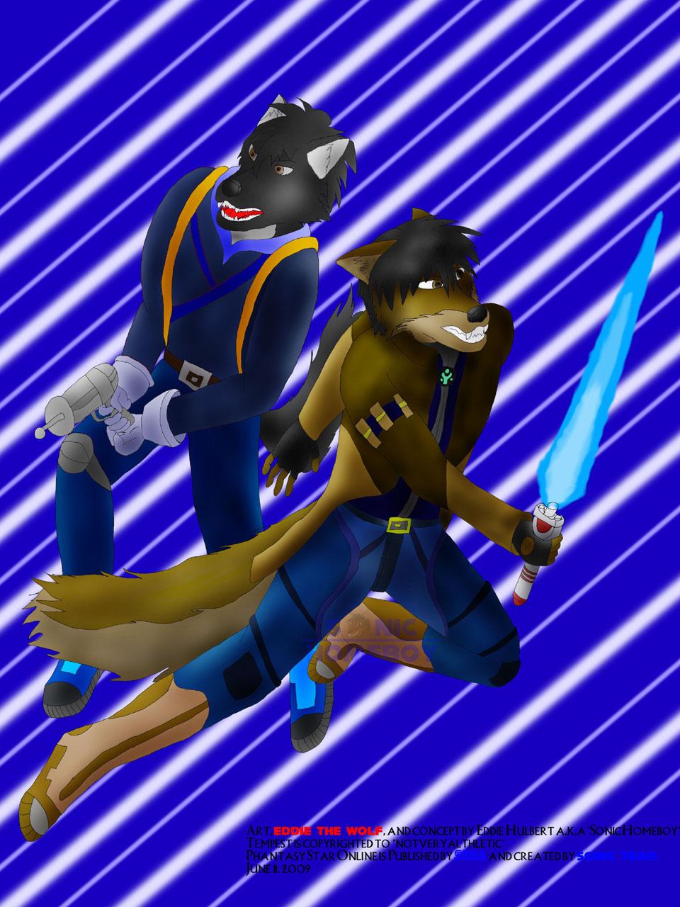 Contest: Eddie and Tempest