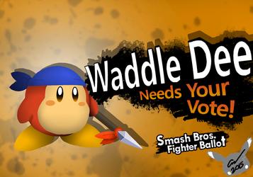 Waddle Dee 4 Smash!!