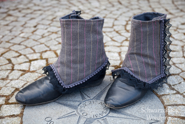 """Steampunk Spats """"Noble and Dainty"""" I"""