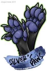 Silver's Paws Badge