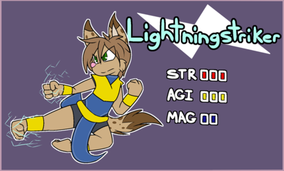 Alternate Class - Lightningstriker