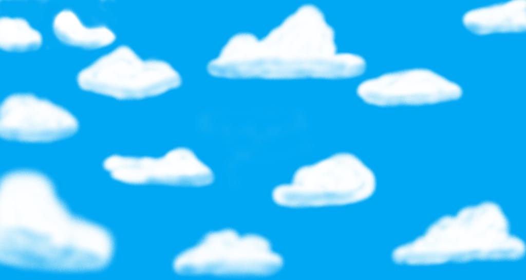 Red Oak Street - Cloud Background