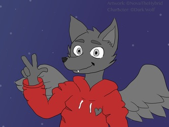 Request for Dark Wolf on Furry Amino