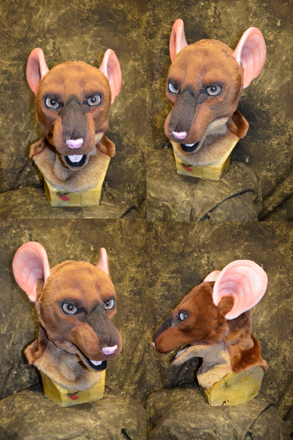 Tiptoe the Rat Head
