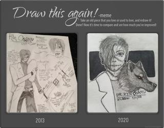 Draw This Again! Meme - Dr. Rin