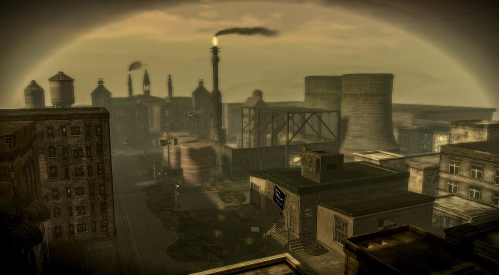 Industrial scenery