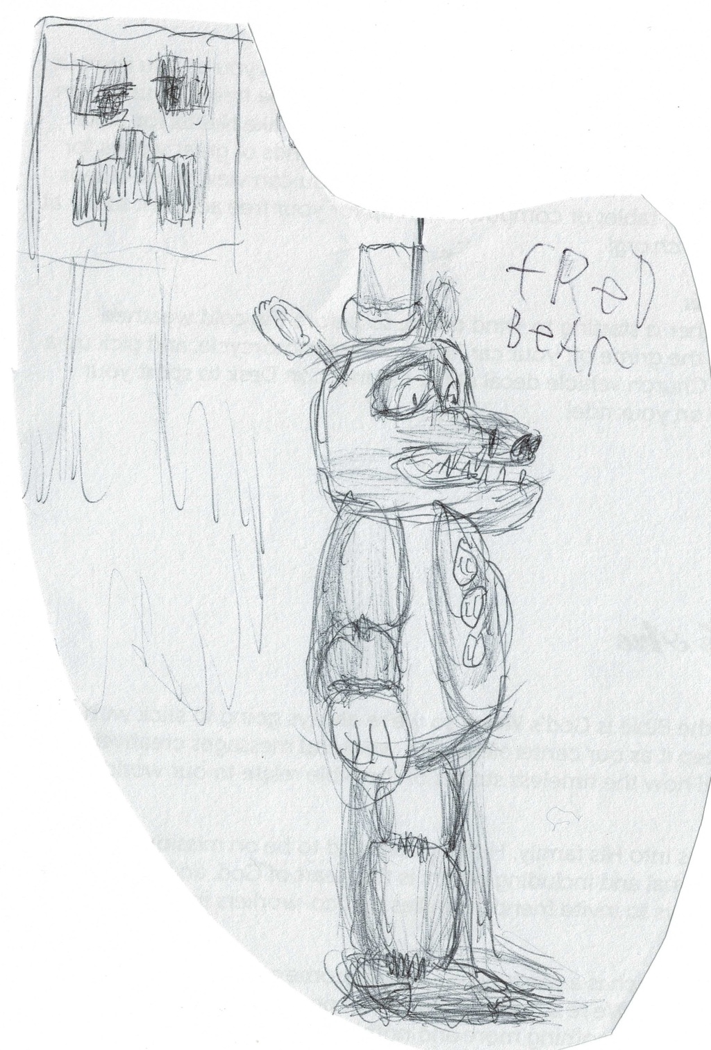 Fredbear and Creeper [My Art]