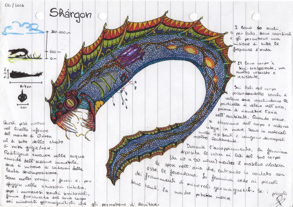 Most recent image: Shàrgon - Old Creature-Monster Design