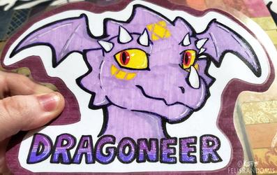 Dragoneer Badge