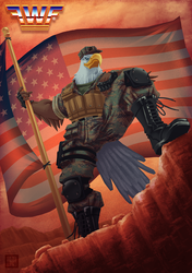 FWF® presents: The Patriot (Alternate outfit)