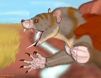 Propleopus the Sabertoothed Killer Kangaroo