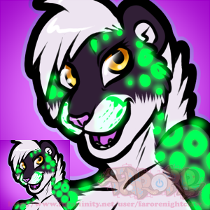 Icon Commission - Ikani by Farorenightclaw