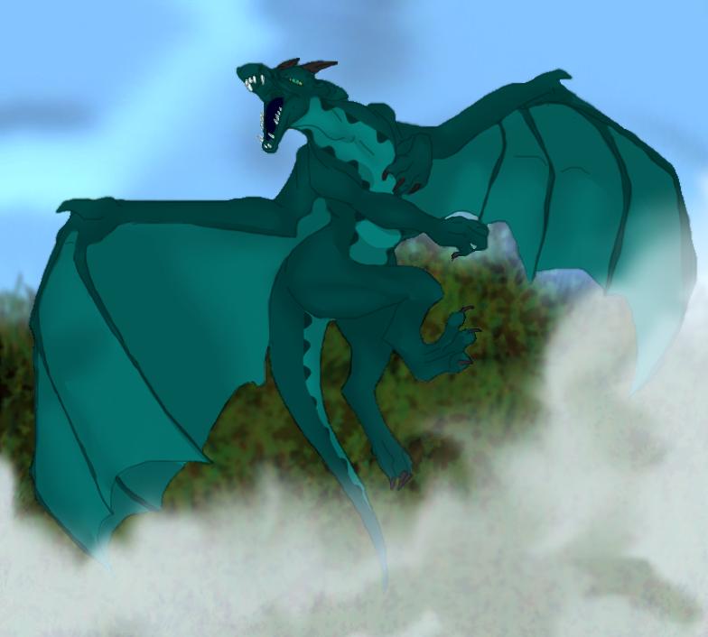 Dragon takes flight