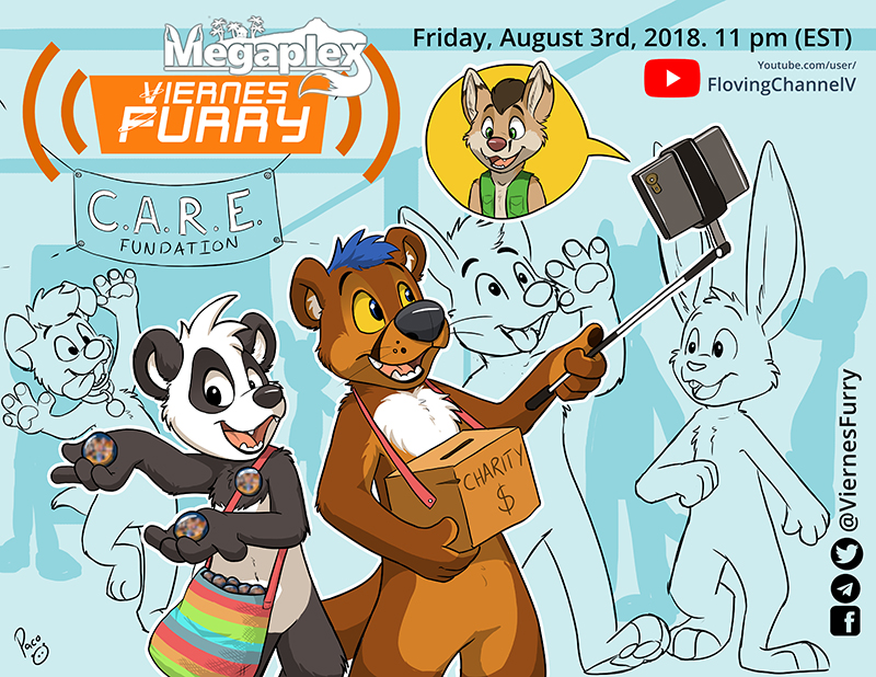 Viernes Furry: Megaplex Charity edition.