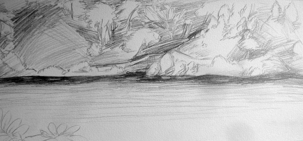 Sketched Lakeside