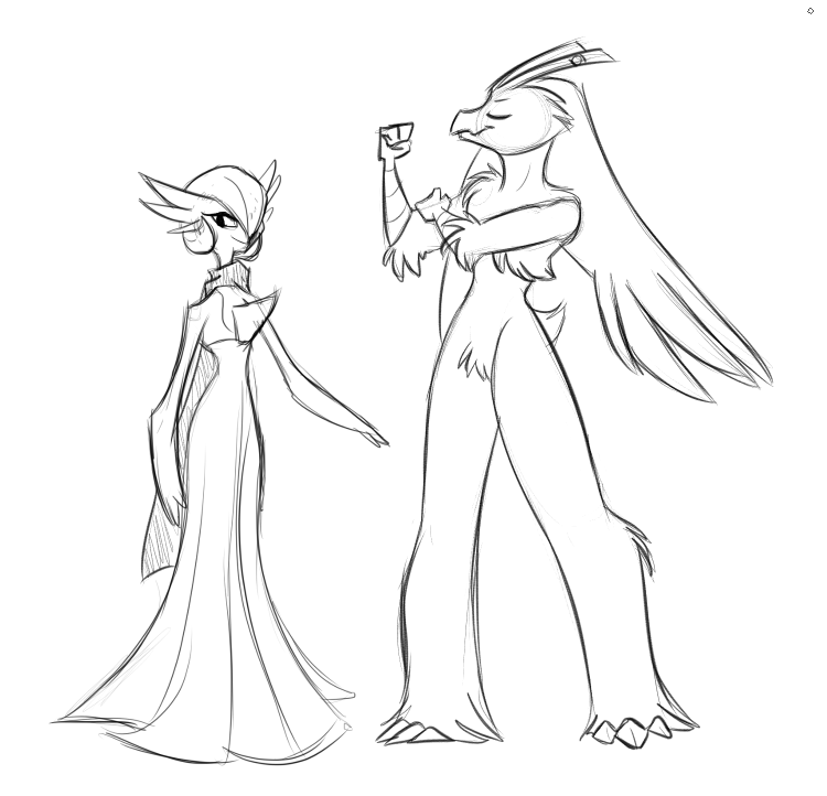 Gardevoir and Blaziken