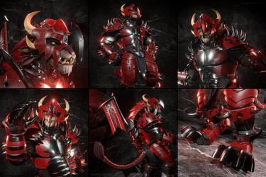 Blood Legion Armor - Legionnaire Outfit