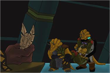 Donatello's Interrogation