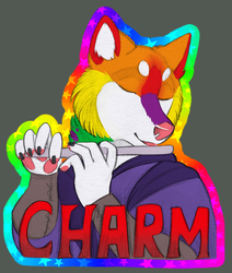 Charm Husky BLFC badge