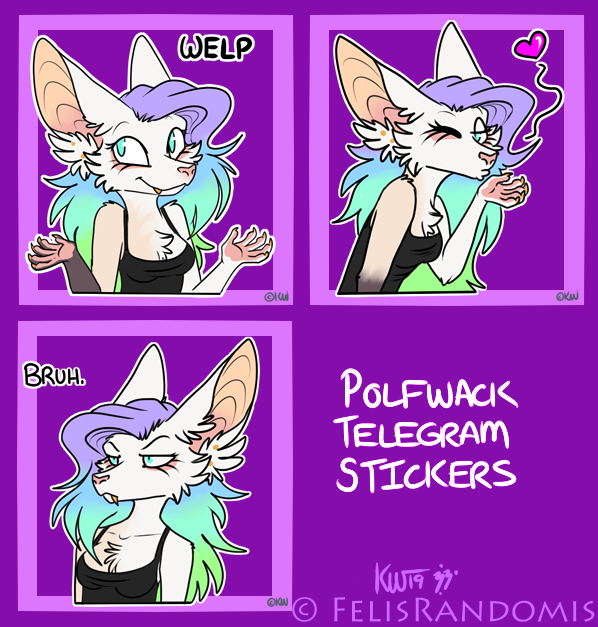 Polfwack Telegram Stickers