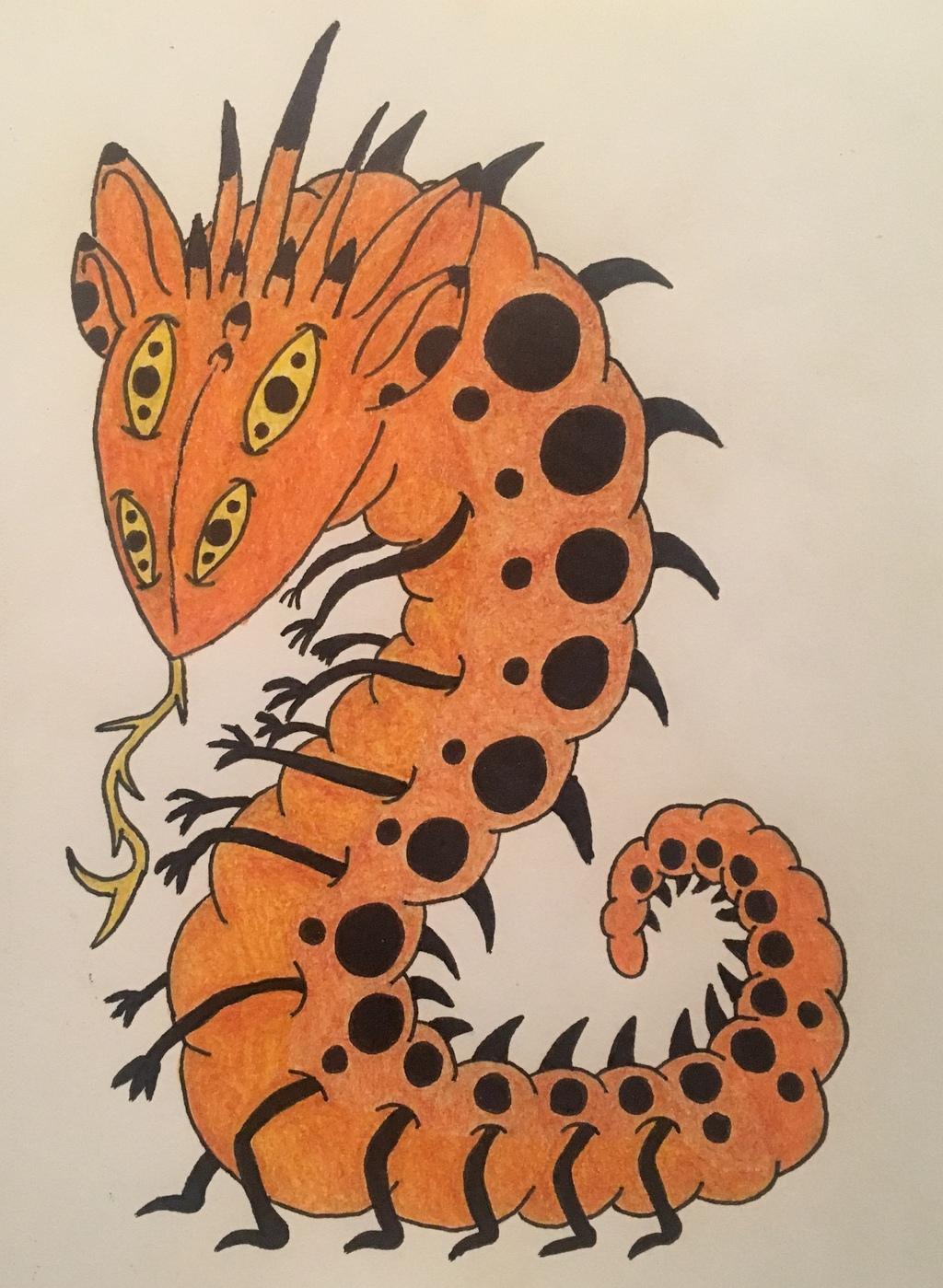 Orange Worm Queen Adopt
