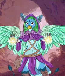Michi, Cleric/Warlock